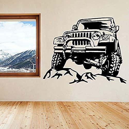 57x45cm Art Sticker Adesivo SUV Viaggiare rimovibile Vinile Home Living Soffitto Finest