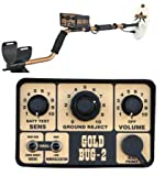 "Fisher Gold Bug-2 Metal Detector with 10"" Coil, 6.5"" Coil by Fisher Labs"