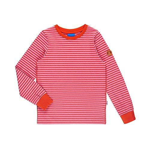 Finkid Rulla stardust grenadine Kinder langarm Shirt mit UV-Schutz in Streifenoptik