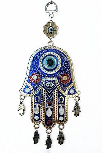 Odishabazaar Hamsa mal de ojo de pared y de coche para colgar amuleto