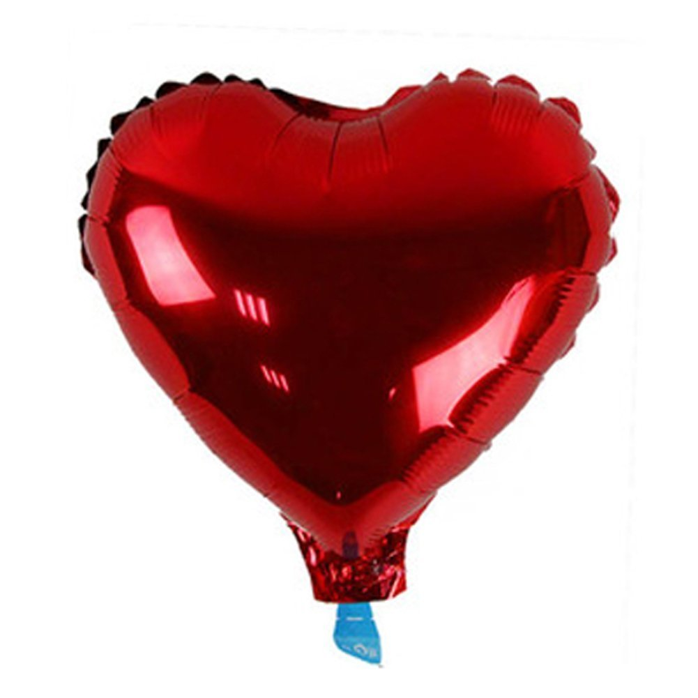 Tfxwerws Beautiful 45,7cm a forma di cuore palloncino per decorazione di nozze