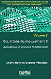 Équations du mouvement 3