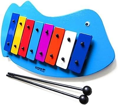 Campana Keepdrum Juego para niños música juguete pescado