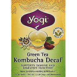 Yogi Tea - Té Verde Orgánico - 16 bolsitas