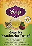 Yogi Tea - Tea - Organic - Green - Kombucha - Decaf - 16 Bags