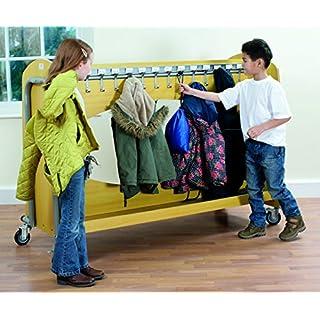 Tuf2 Classroom Storage Cloakroom Trolley Heavy Duty (FN0602) - Classroom/Nursery