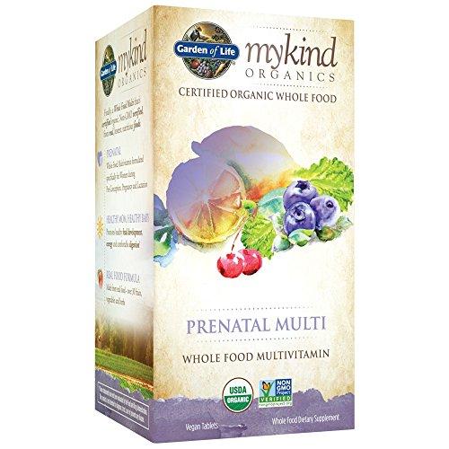 Garden of Life mykind Organics Prenatal Multi - 180 Tabletten Multivitamin für Schwangere & Schwangerschaft
