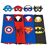 My-My Toys for 3-10 Year Old Boys, Superhero Capes for Kids 3-10 Year