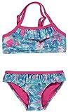 Pampolina® Mädchen Bikini Badeanzug Bunt Rüschen, Größe:122, Präzise Farbe:Mehrfarbig