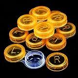 1PCS porta lenti a contatto ammollo casi Portable box Holder contenitore Eyecare kit (colore: inviato casualmente)
