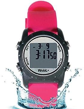 WobL + (ROSA) reloj recordatorio vibrante a prueba de agua   Entrenamiento para ir al baño   Recordatorio de TDAH