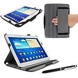 "Roocase YM-GALX10-TAB3-SF-BK 10.1"" Folio Negro funda para tablet - fundas para tablets (25,6 cm (10.1""), Folio, Negro, Samsung, Samsung Galaxy Tab 3 10.1)"