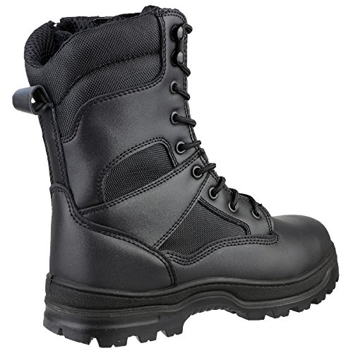 Amblers Safety FS008 S3 Side Zip Hi-Boot Black Size 46 Hi Side Zip