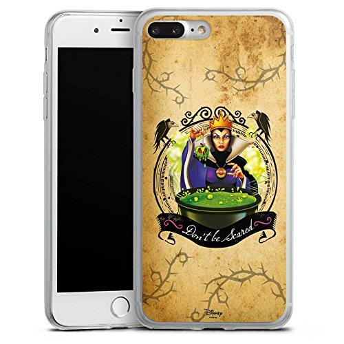 Apple iPhone 8 Slim Case Silikon Hülle Schutzhülle Walt Disney Schneewittchen Hexe Geschenk Silikon Slim Case transparent