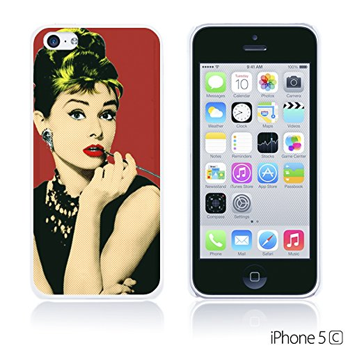 OBiDi - Celebrity Star Hard Back Case / Housse pour Apple iPhone 5C - Che Guevara Audrey Hepburn