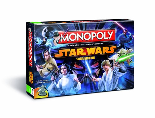 Wars Star Monopoly-spiel (Winning Moves 41504 - Monopoly Star Wars, Saga Edition)