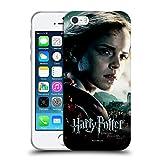 Officiel Harry Potter Hermione Granger Deathly Hallows VIII Coque en Gel Doux Compatible avec iPhone 5 iPhone 5s iPhone Se