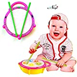 #2: Negi Battery Operated Musical Flash Drum for Kids
