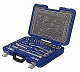 Michelin 602010030 Steckschlüsselsatz, Nusskasten, Ratschenkasten Set