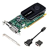 PNY VCQK420-2GB-PB Quadro K420 Graphic Card NVIDIA (PCI-e 2GB GDDR3, DVI, Display Port, 1x GPU)