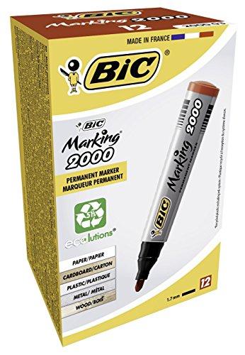 bic-marking-2000-ecolutions-marcatore-permanente-confezione-12-marcatori-colore-rosso
