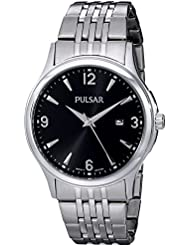Pulsar Herren Armbanduhr ph9075silberfarbenes
