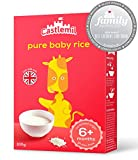 Castlemil Baby Rice 6 Months Plus – Gluten Free with No Artificial Preservatives 100g (Pack Of 4)