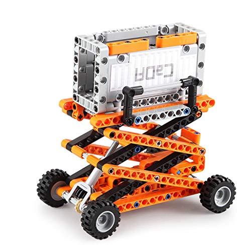 Baustein DIY Port Engineering 10 in 1 Wissenschaft und Bildung Mark Truck Machinery Electric Gift