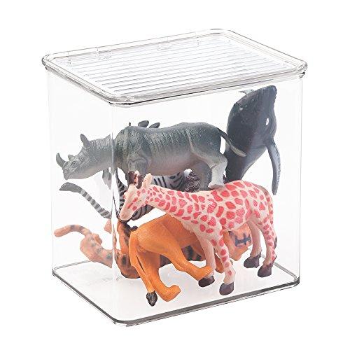 mDesign niños/bebé juguete caja de almacenaje para bloques