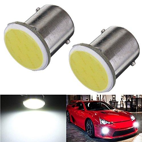 Preisvergleich Produktbild mark8shop Auto Trailer Innen 1156BA15S COB LED Super White Birnen Licht 1073