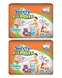 #9: Sweety Fit Pantz Value Pack Baby Diapers - Pack of 2 (Size: XL Count 20)