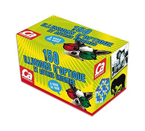 Boîte Illusions d'optique et autres énigmes par Collectif