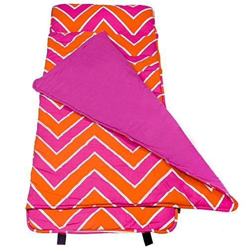 wildkin-zigzag-original-nap-mat-pink-by-wildkin