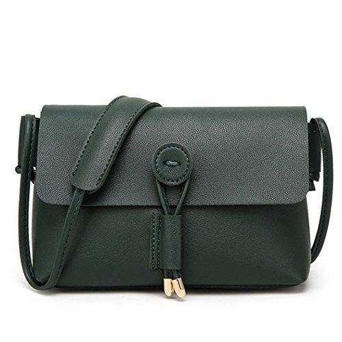 Fami Le donne della spalla di modo di cuoio del messaggero del Tote di Crossbody Satchel Handbag GN