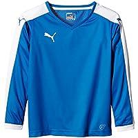 Puma T-Shirt Pitch Long Sleeve - Camiseta, color azul royal/white, talla de: 128