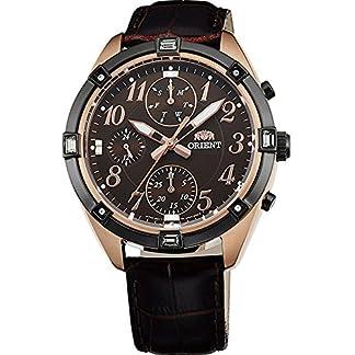 Orient FUY04004T0 – Reloj analógico de cuarzo para mujer,   con correa en cuero