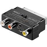 GOOBAY adaptateur Peritel switchable SVideo-RCA audio video