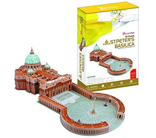 CubicFun 3D Puzzle Petersdom - Vatikan-modell