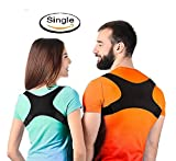 Neoprene Back Support Posture Corrector Brace for Shoulder, Neck, Back Pain Relief