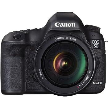 Canon EOS 5D Mark III + EF 24-105mm f/4L IS USM: Amazon.es ...