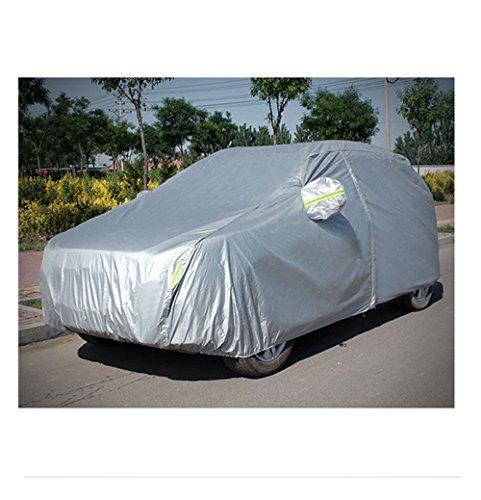 Sport family Autoabdeckung Vollgarage wasserdicht sonnenschutz Auto garage Ganzgarage Abdeck plane UV Regen Schutz Für SUV(495*190*185cm)