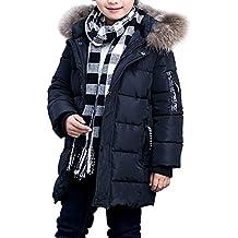 267c7fe57 Phorecys niño Abrigo de Invierno con Capucha Forro niño Parka Invierno Nieve