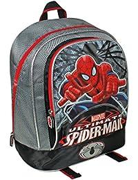 Spiderman, Sac à dos enfant  bleu 33 cm