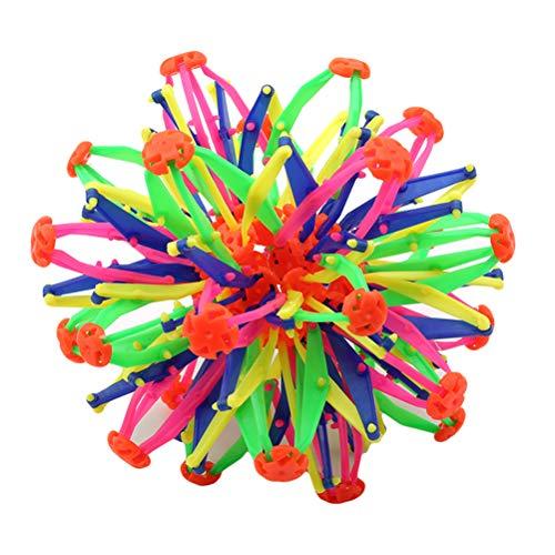Expandaball Mini Rings Sphere Multi Farben Plastic-Magic Ball-Größere Kugel Versenkbare Veränderbar Magical Flower Ball für Kinder und Eltern-das Spielzeug zum erweitern, Bunt -