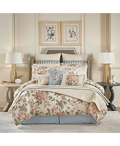 Croscill Carlotta California King Bettdecken-Set, elfenbeinfarben, 4-teilig (Bedding Croscill King)