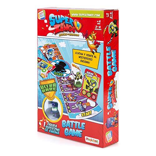 SuperZings- Enigma Juego de Mesa-Battle Game-Castellano...