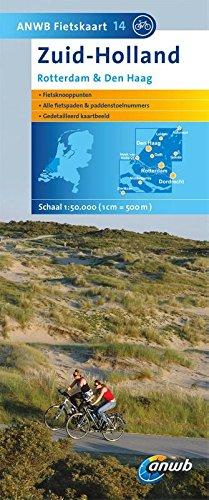 Zuid Holland 14 Fietskaart Rdam Den Haag par ANWB BV