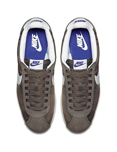 Nike Element 1/2 Zip Maglia DARK MUSHROOM/WHITE