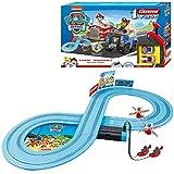 Carrera FIRST PAW PATROL - On the track - Circuit de course électrique avec voitures miniatures - Jouet pour enfants à partir de 3 ans