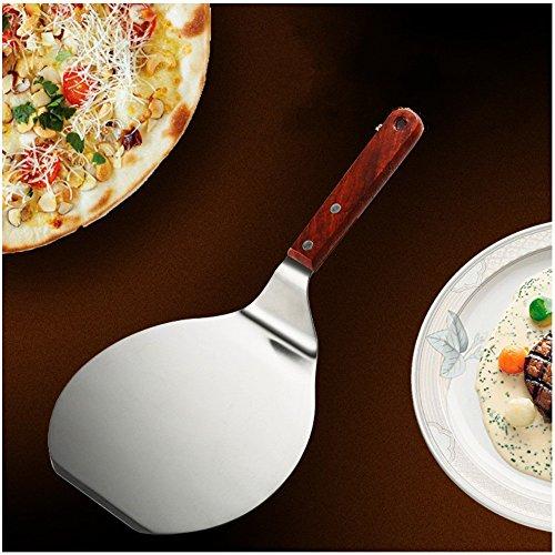 DIKETE Edelstahl Tortenheber Kuchenheber Kuchenretter 16.5cm Durchmesser - Ideal für Kuchen Pizzas Obst kuchen Torten Keks